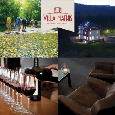 brochure activités et animation à la Villa Mathis