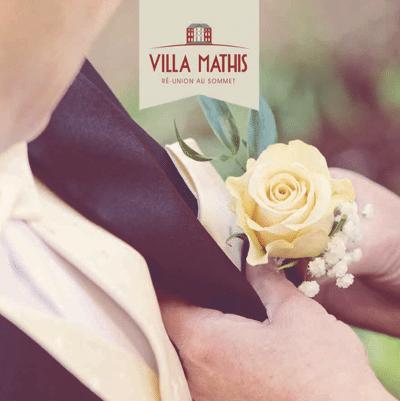 Brochure mariages et banquets à la Villa Mathis
