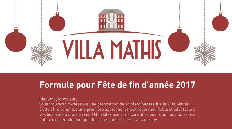 """Fêtes de Noël """"Entreprises"""" 2017"""