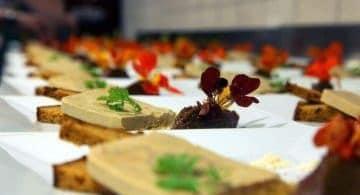 Repas lors d'un mariage en Alsace