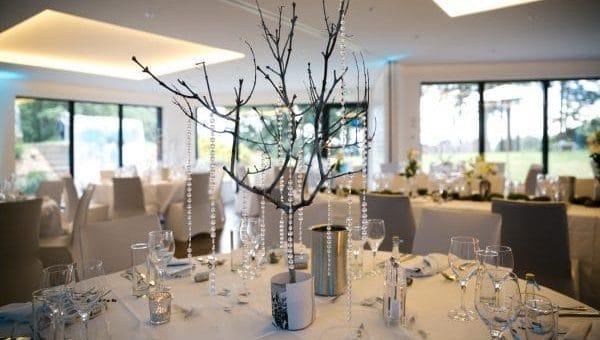 Belle table lors d'un mariage en Alsace