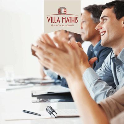 brochure séminaires à la Villa Mathis