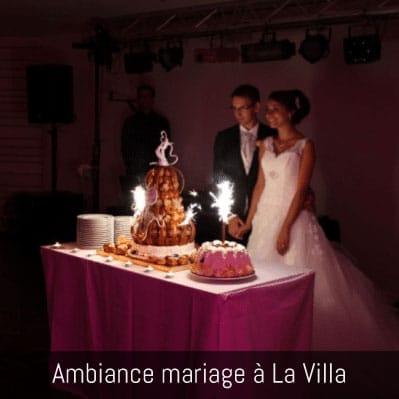 La Villa en images : ambiance mariage à La Villa