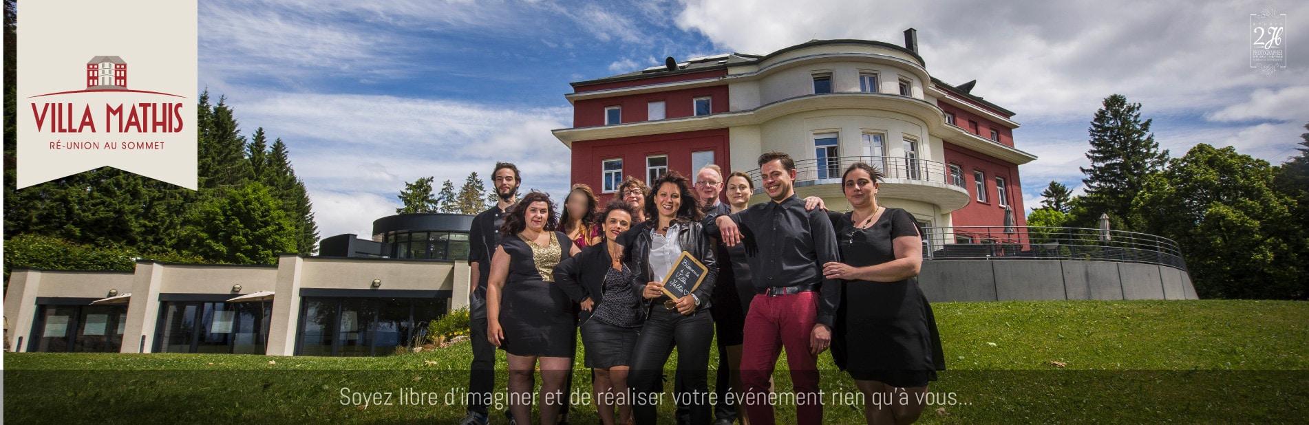 Mariage, fête, réception ou séminaire en Alsace