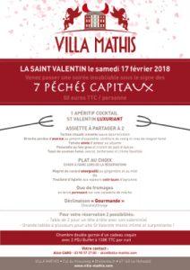 Saint valentin en alsace à la villa mathis